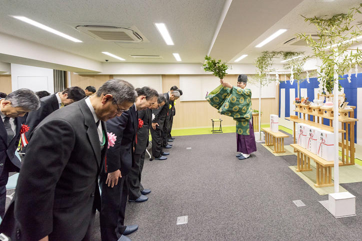 Completion of Hiyoshi International Dormitory―the First Unit