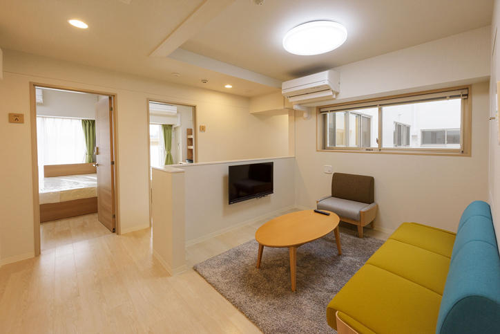 Completion Of Hiyoshi International Dormitory―the First